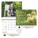 Custom GoodValue Baby Farm Animals Calendar (Stapled)