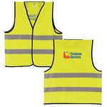 Custom BIC Graphic Reflective Safety Vest