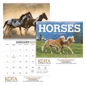 Custom Printed Horses Appointment Calendars