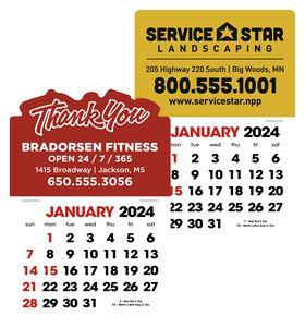 Triumph® 2-Color Stick Up Grid Calendar