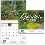 Custom Good Value Garden Walk Calendar (Spiral)