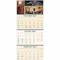 Triumph® Four-Panel Custom Calendar