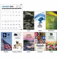 Triumph® Colorful Impressions Monthly Pocket Planner