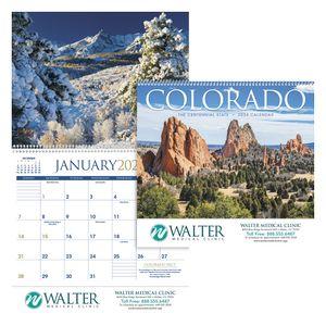 Custom Imprinted Colorado Wall Calendars