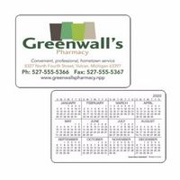 Good Value® Horizontal Wallet Card Calendar