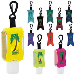 1 Oz. Good Value Hand Sanitizer w/Leash - Scented