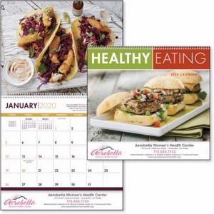 Custom Printed Healthy Eating Appointment Calendars