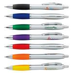 Custom GoodValue Ion Silver Ballpoint Pen