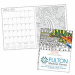 Custom Good Value Adult Coloring Book Academic Planner