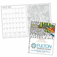 Good Value® Adult Coloring Book Planner (Academic)