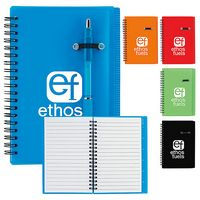 "5""x7"" Good Value® Journal Notebook w/Pen Loop"