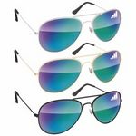 BIC Graphic® Metal Aviator Sunglasses - Mirror