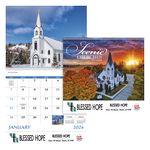 Good Value® Scenic Churches Spiral Calendar