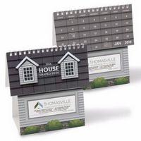 NUVO™ by Triumph® House Shape Desk Calendar