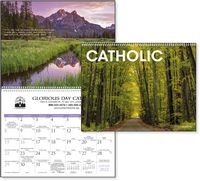 Triumph® Catholic Scenic Executive Calendar