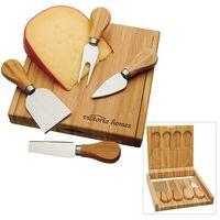 BIC Graphic® Bamboo Cheese Set