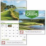 Custom GoodValue Fairways & Greens Calendar (Spiral)