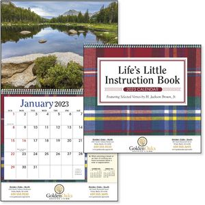 Custom Printed Lifes Little Instruction Book Appointment Calendars