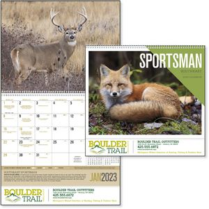 Custom Printed Southeast Sportsman Appointment Calendars