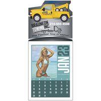 Triumph® Full Color Swimsuit Stick Up Grid Calendar