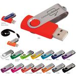 4 GB Universal Source™ Folding USB 2.0 Flash Drive
