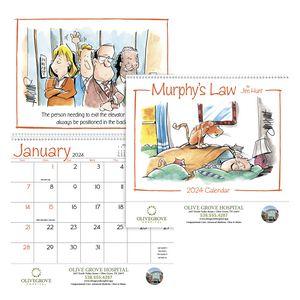 Custom Printed Murphys Law Appointment Calendars