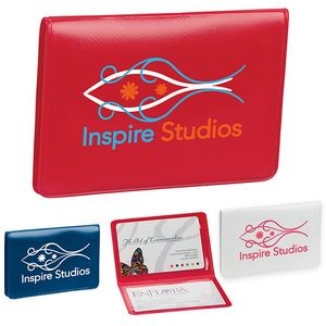 Dechan inc promotional products and apparel las vegas nv business card license holder reheart Image collections
