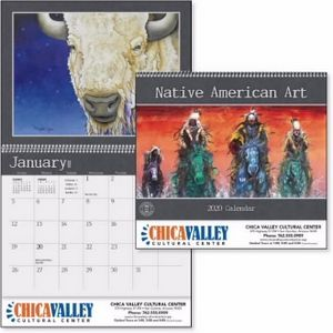 Custom Printed Native American Art Appointment Calendars