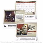 Custom Triumph The Saturday Evening Post Illustrations by Norman Rockwell Large Desk Calendar