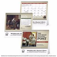 Triumph® The Saturday Evening Post Illustrations by Norman Rockwell Large Desk Calendar