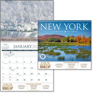Custom Imprinted New York Wall Calendars