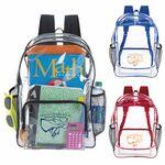 Custom Good Value Clear Backpack