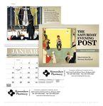 Custom Triumph The Saturday Evening Post w/ Illustrations by Norman Rockwell Pocket Calendar