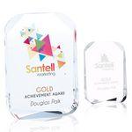 Custom Jaffa Beveled Corners Award - Small