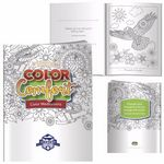Custom BIC Graphic Adult Coloring Books - Hues of Happiness (Flowers)