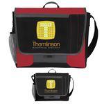 Custom Atchison Tri-Pocket Flap Messenger Bag
