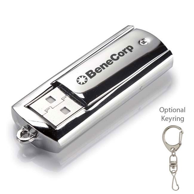 4 GB Universal Source™ Metal USB 2.0 Flash Drive