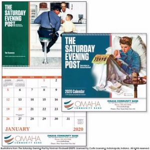 GoodValue The Saturday Evening Post by Norman Rockwell Calendar (Spiral)