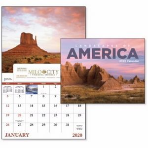 GoodValue Landscapes of America Calendar (Window)