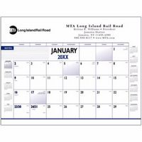 Triumph® Custom Four-Color Desk Pad Calendar