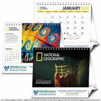 Triumph® National Geographic Photography Large Desk Calendar
