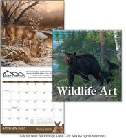 Triumph® Wildlife Art Executive Calendar