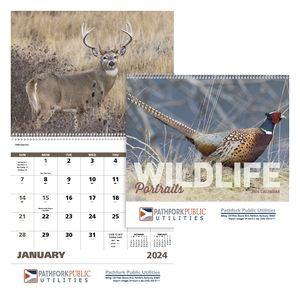 GoodValue Wildlife Portraits Calendar (Spiral)