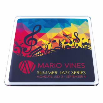 Good Value® Square Acrylic Coaster