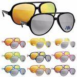 BIC Graphic® Plastic Aviator Sunglasses - Mirror