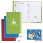 Custom Good Value Monthly Weekly Planner w/Clear Pocket