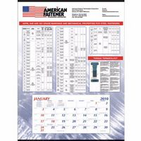 Triumph® Mount w/Custom Grid Calendar (Large)