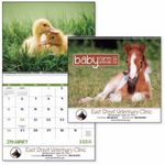 Custom GoodValue Baby Farm Animals Calendar (Spiral)