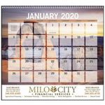 Custom GoodValue Scenic Small Memo 2019 Calendar