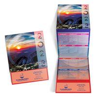Landscape Trifold Calendar